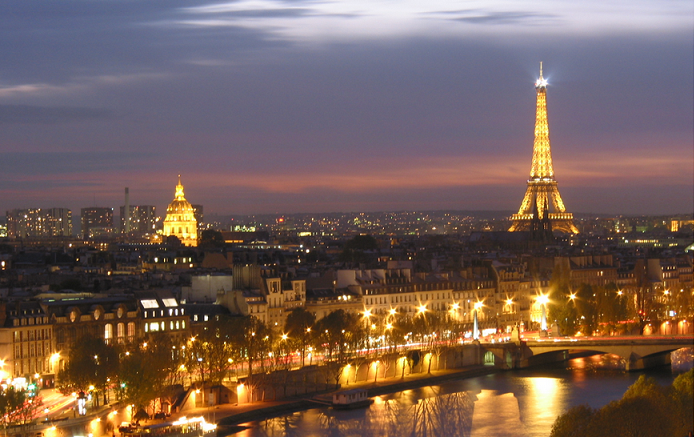 Paris at night - I dream of Paris!