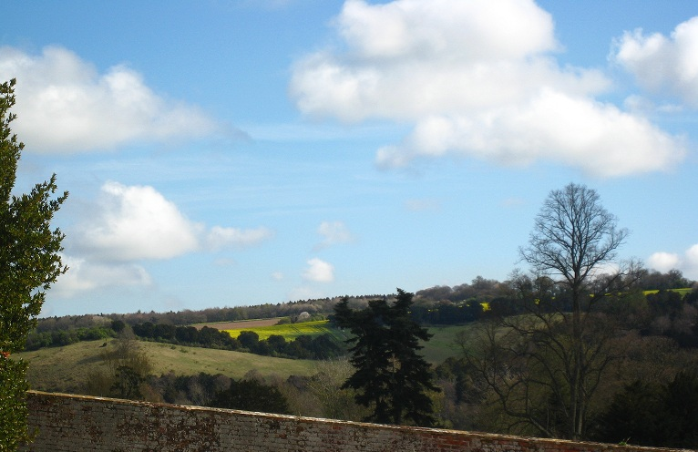 view from Basildon Park