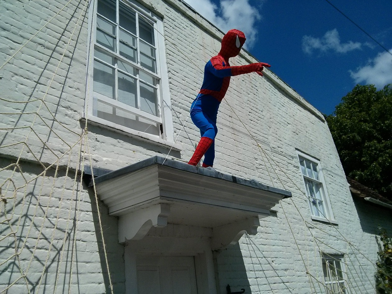 Spiderman, Sonning Scarecrow Trail 2014