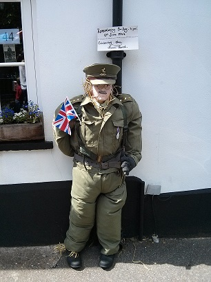 Mr Mannering, Dads Army - Sonning Scarecrow Trail 2014