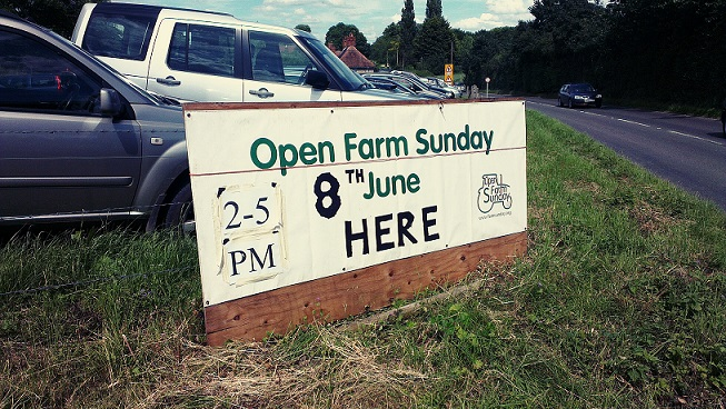 It's a busy day down on the farm…