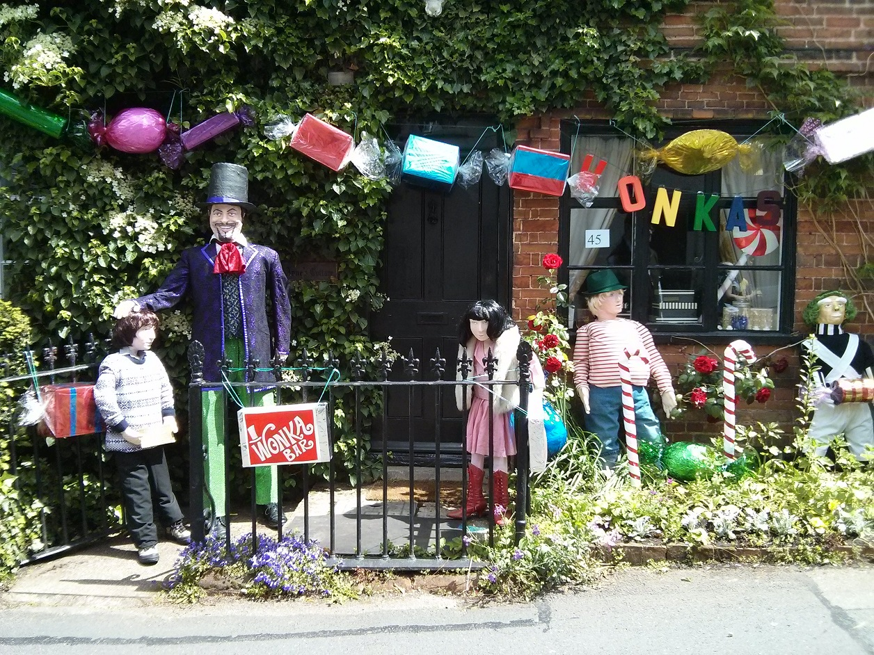Willy Wonka Scareceow Trail 2014